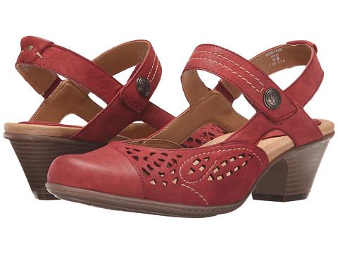 Earth Shoes Bantam Red