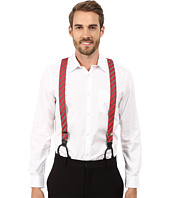 Gingham Striped Button On Suspenders Stacy Adams