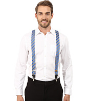 Gingham Striped Clip On Suspenders Stacy Adams