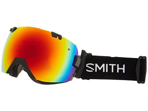 Smith Optics Iox Turbo Black Red Sol X Mirror Zappos Com