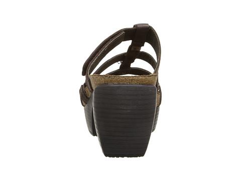 Naot Footwear Bond Brown Smoke Leather 6pm Com