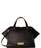 Knomo Brompton Jackson Top Handle Brief Black Leather