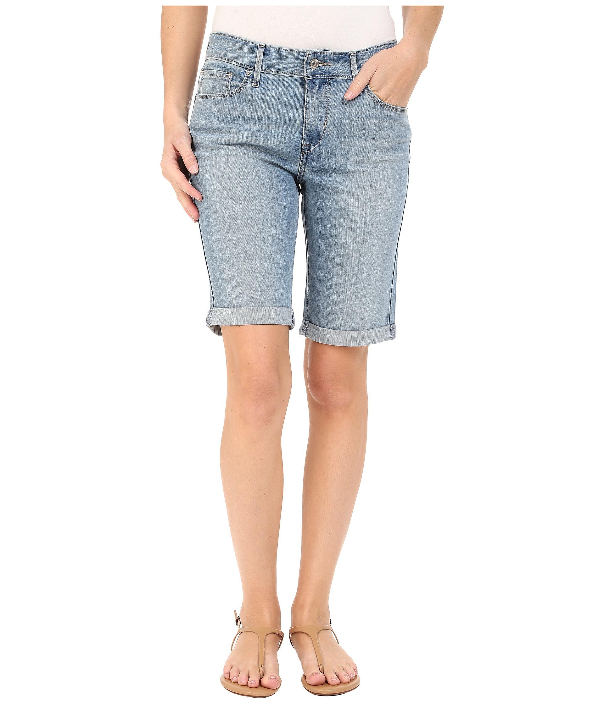 Levi's® Womens Bermuda Shorts Cold Dust - Zappos.com Free Shipping BOTH Ways