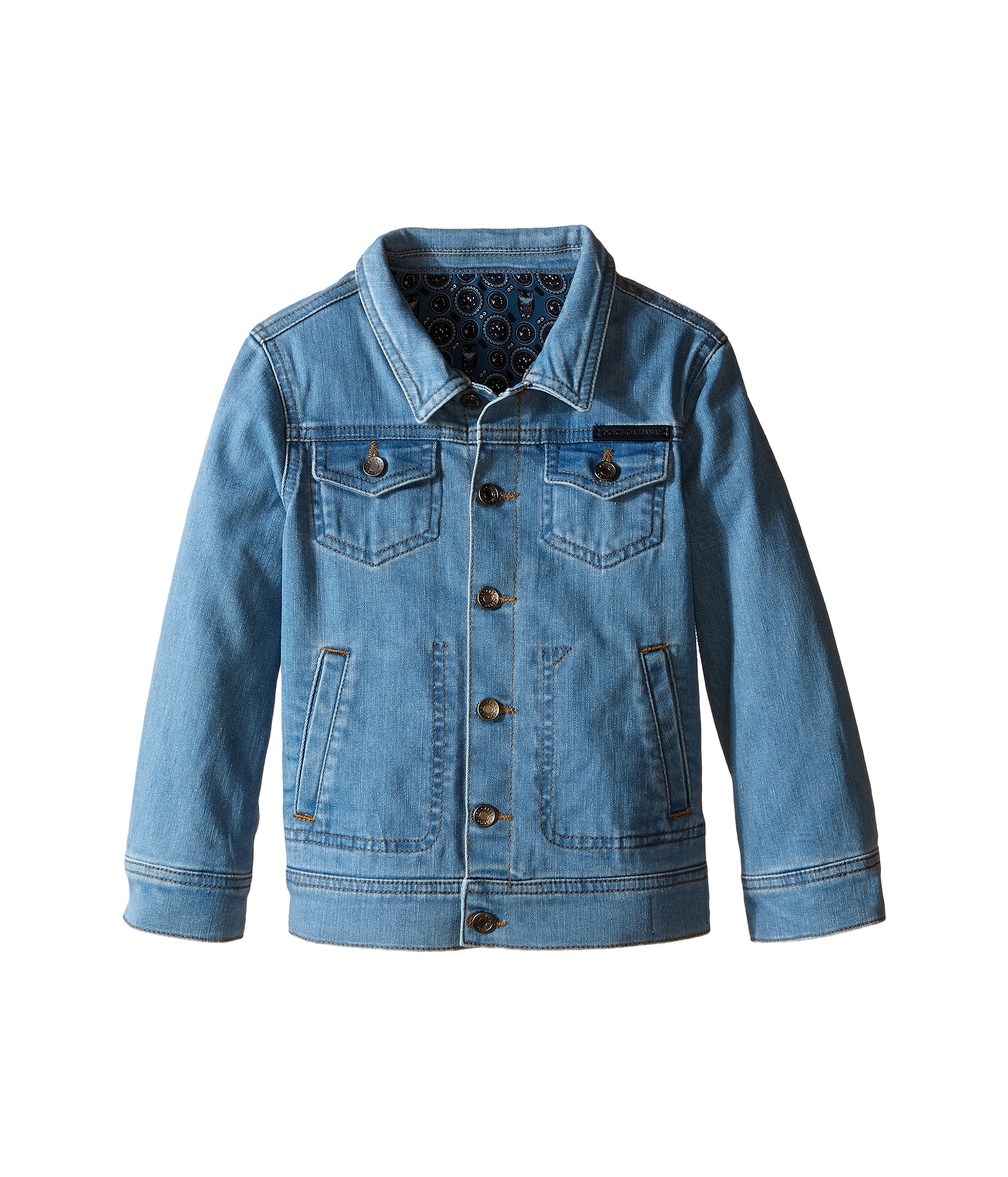 Jean jackets are a great wardrobe staple for kids, as denim is tough and can withstand the everyday play of your little one. Letting your child decorate her jean jacket is a fun activity that can provide a sense of self-expression.