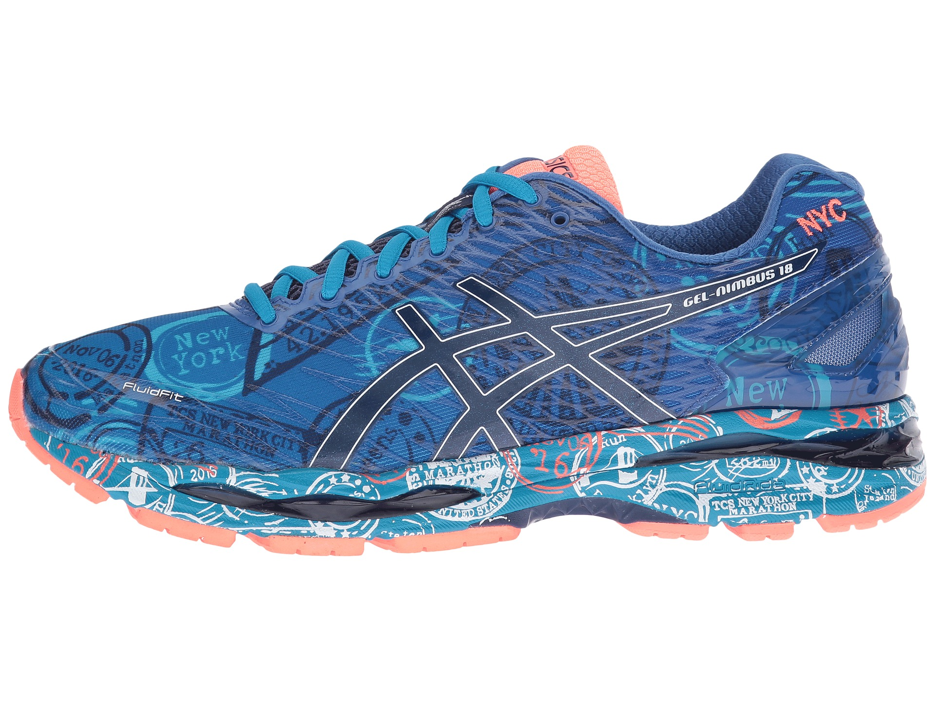 asics gel nimbus 18 nyc run new york free. Black Bedroom Furniture Sets. Home Design Ideas