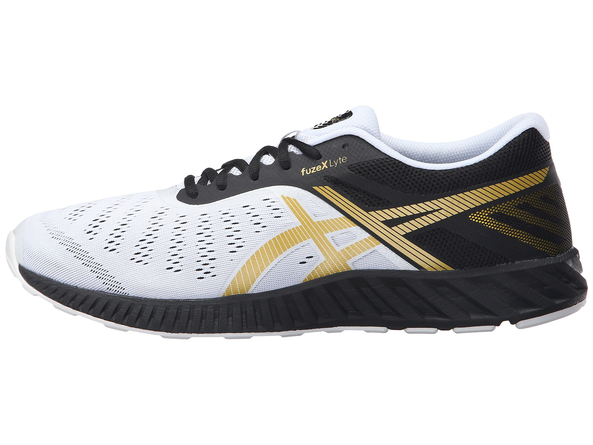 Asics Fuzex Lyte Men S Shoes Gray White Coral