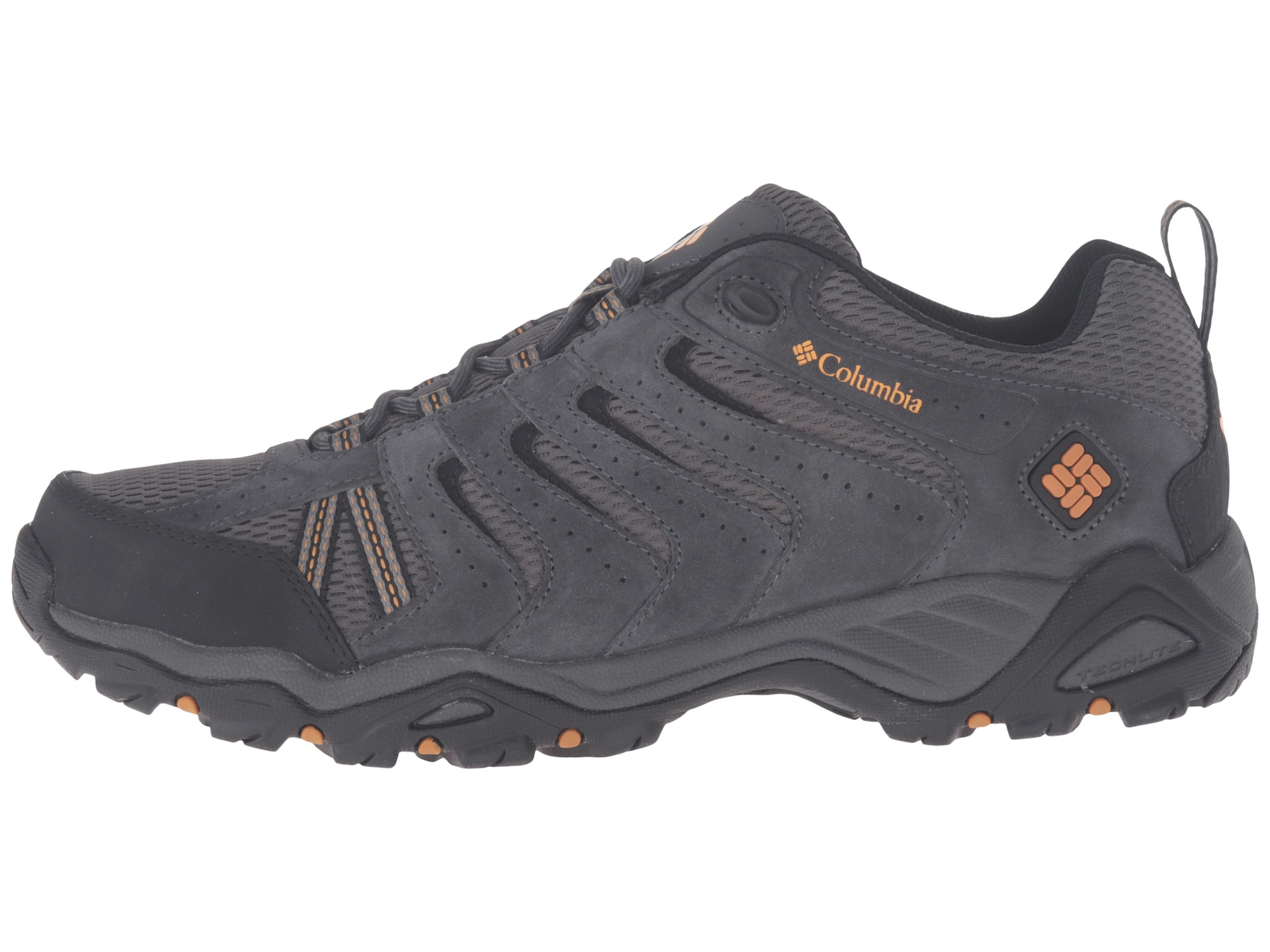 Columbia Men S North Plains Ii Hiking Shoe Shark Canyon Gold