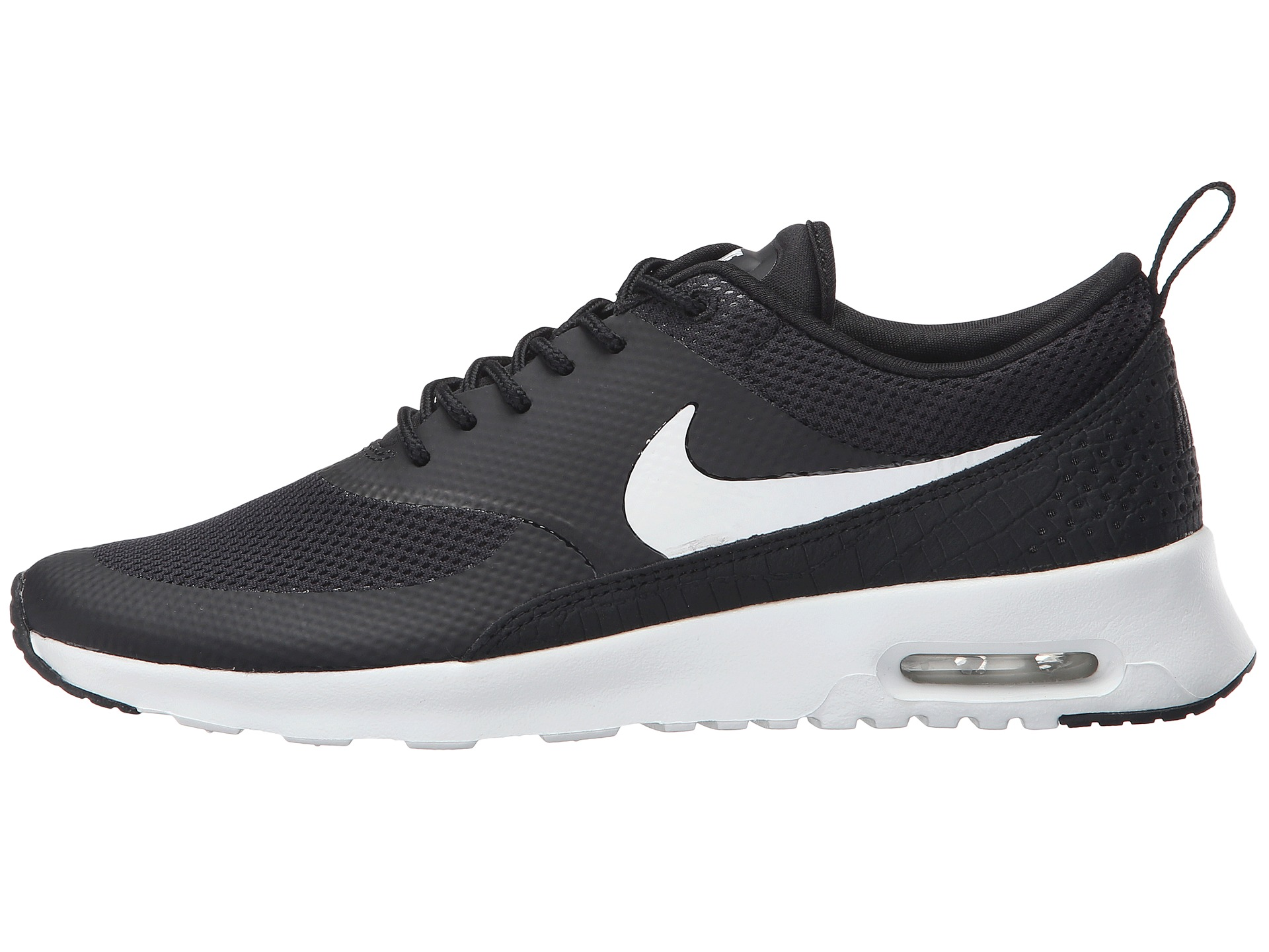 nike sportswear air max thea trainers noir gris. Black Bedroom Furniture Sets. Home Design Ideas