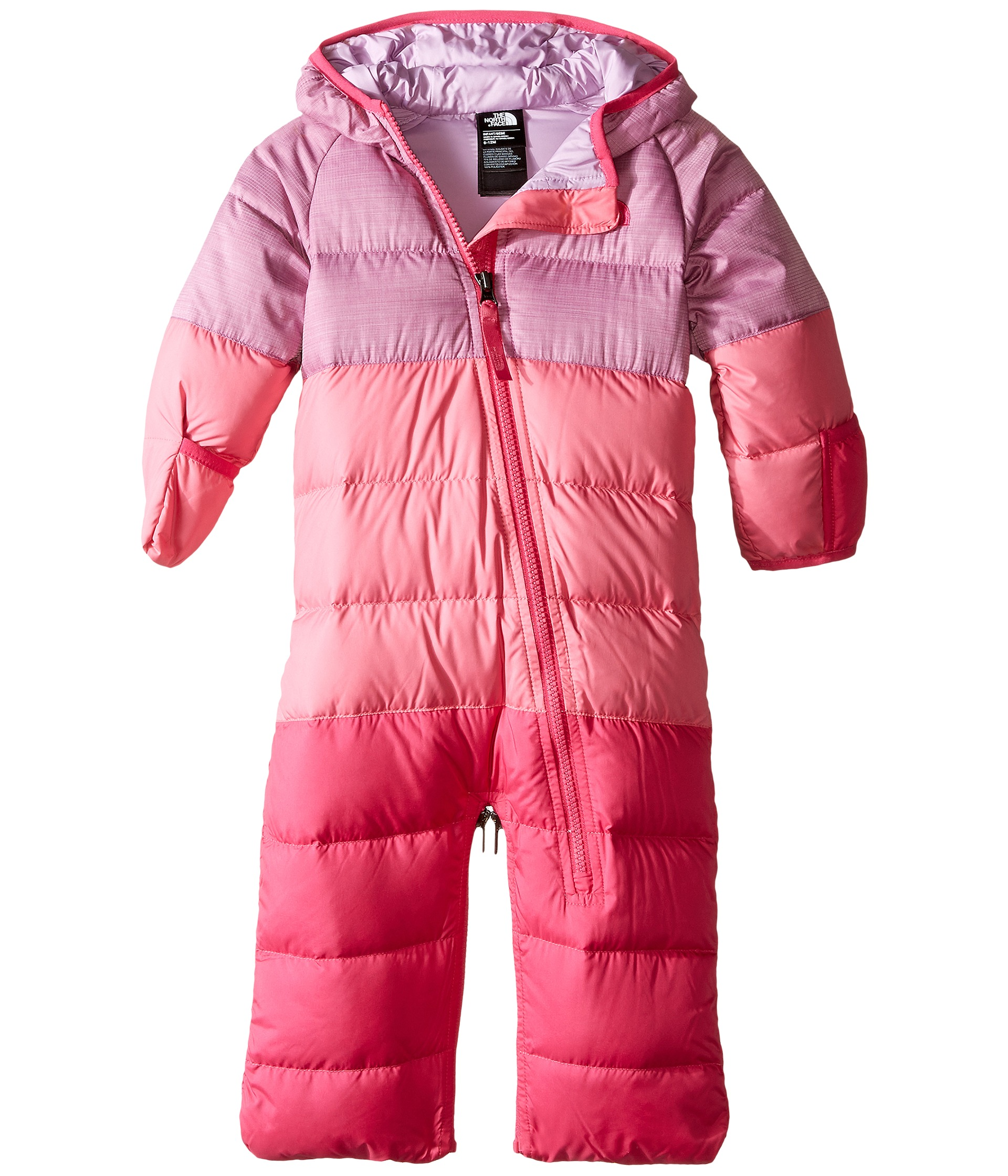 b2bbb6eb5f6c The North Face Kids Lil Snuggler Down Bunting (Infant) Wisteria ...