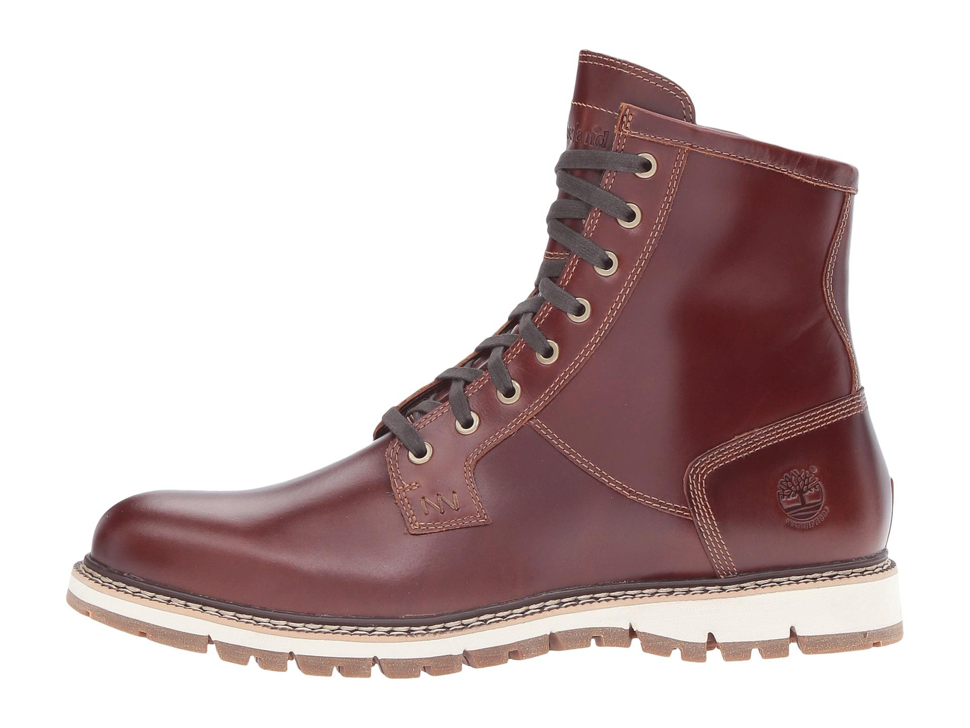 Timberland Britton Hill Waterproof Plain Toe Boot Zappos