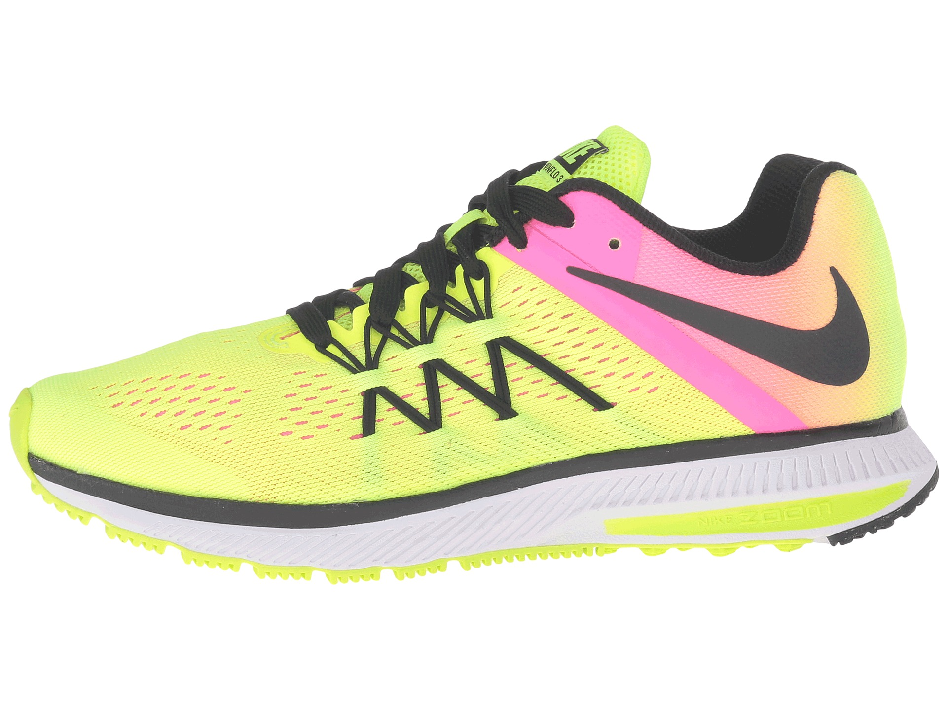 separation shoes cb2ec 71746 ... nike zoom winflo 3 silver yellow  nike zoom winflo 3 womens pink ...