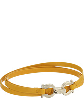 Chan Luu Yellow Mix Wrap Bracelet With Stones And Chain
