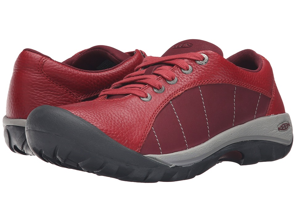 Red Keen Presidio Shoes
