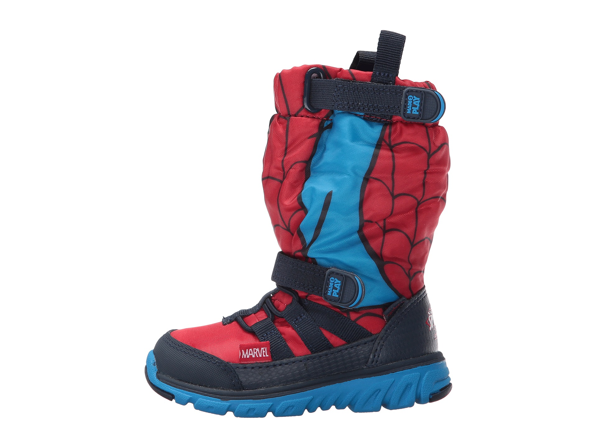 Stride Rite Made 2 Play Spiderman Sneaker Boot (Toddler