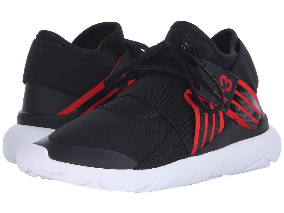 63e6947b765d Adidas Y-3 Qasa Elle Lace Black White S77883