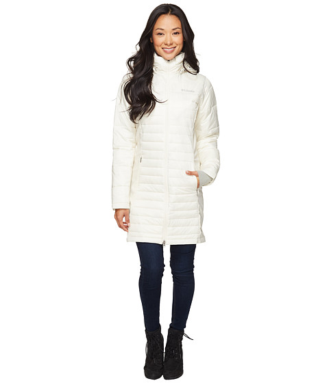 Columbia Powder Pillow Hybrid Long Jacket At 6pm Com