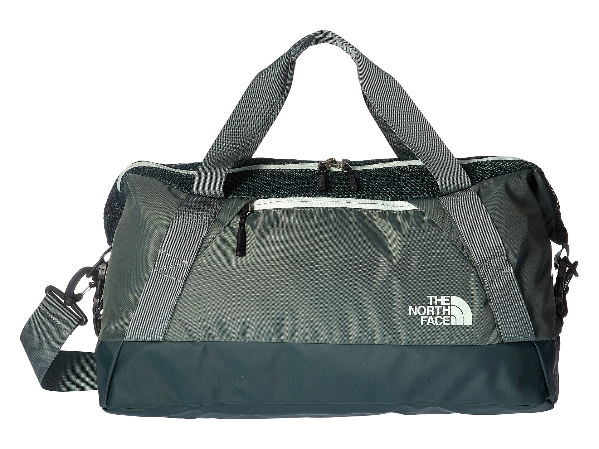 the north face apex gym duffel bag small subtle green. Black Bedroom Furniture Sets. Home Design Ideas