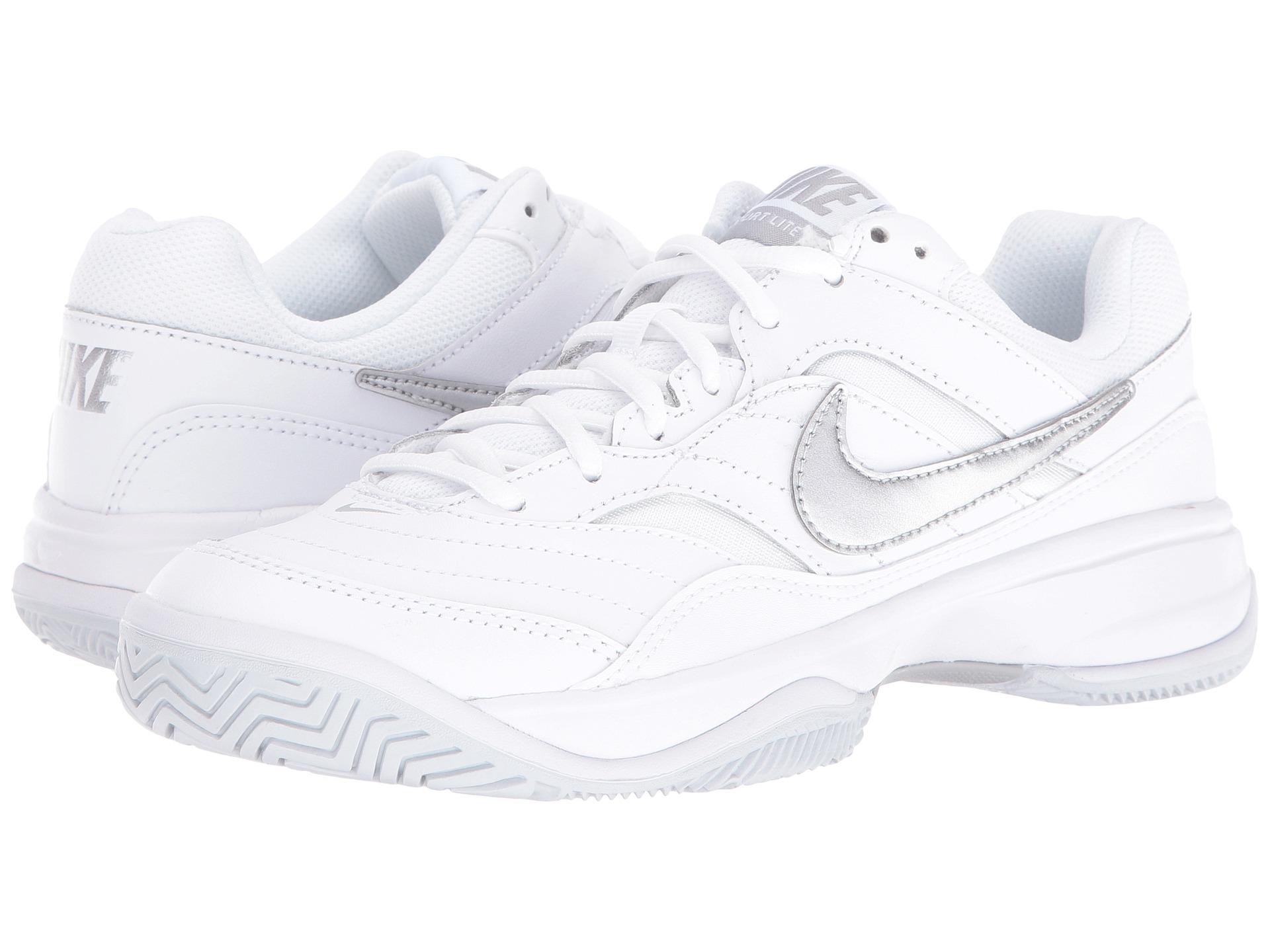 Nike Court Lite White Violet Women S Shoe