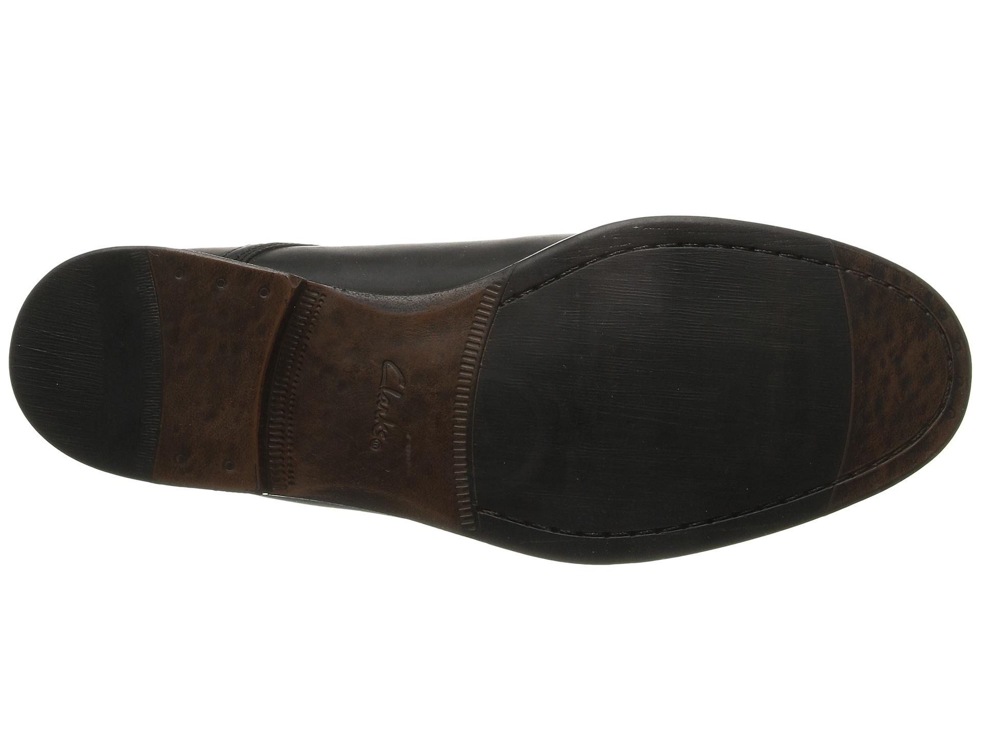 Clarks Chart Walk Black Dress Shoes