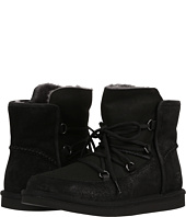 Ugg Heirloom Lace Up Black Shoes Black Shipped Free At