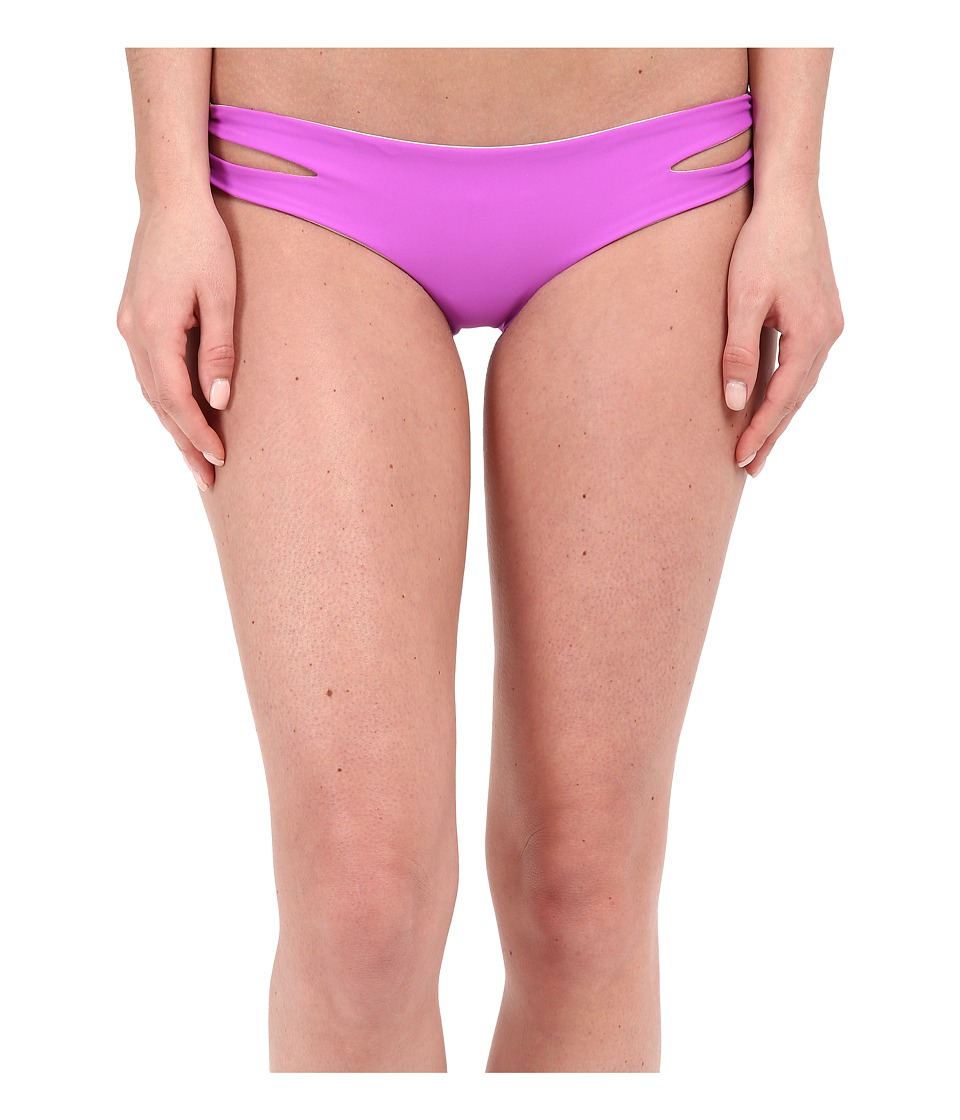 9d31a34df039c  80.00 More Details · Luli Fama - Cosita Buena Reversible Zigzag Open Side  Moderate Bottom (Purple Ocean) Women s
