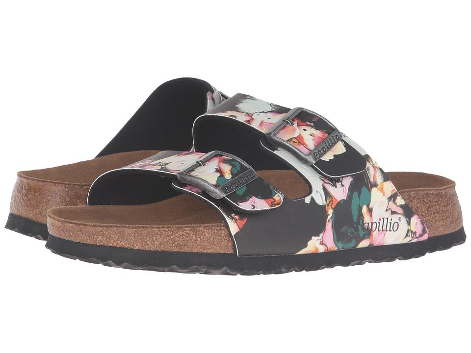 0e227c8d4d  94.95 More Details · Birkenstock - Arizona Soft Footbed (Painted Bloom  Black Birko-Flor) Women s Sandals