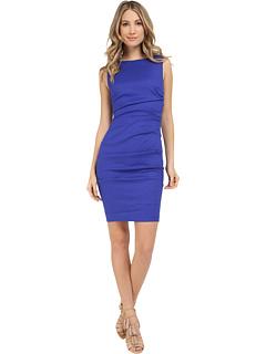 Nicole Miller Lauren Stretch Linen Dress Zappos Com Free