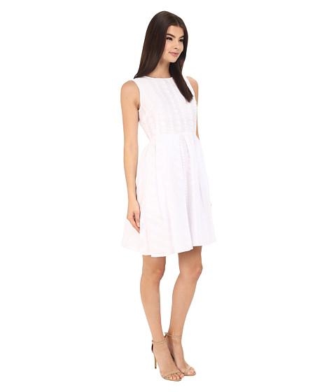 Calvin Klein Sleeveless Fit Amp Flair Dress Cd6g4r9a At 6pm Com