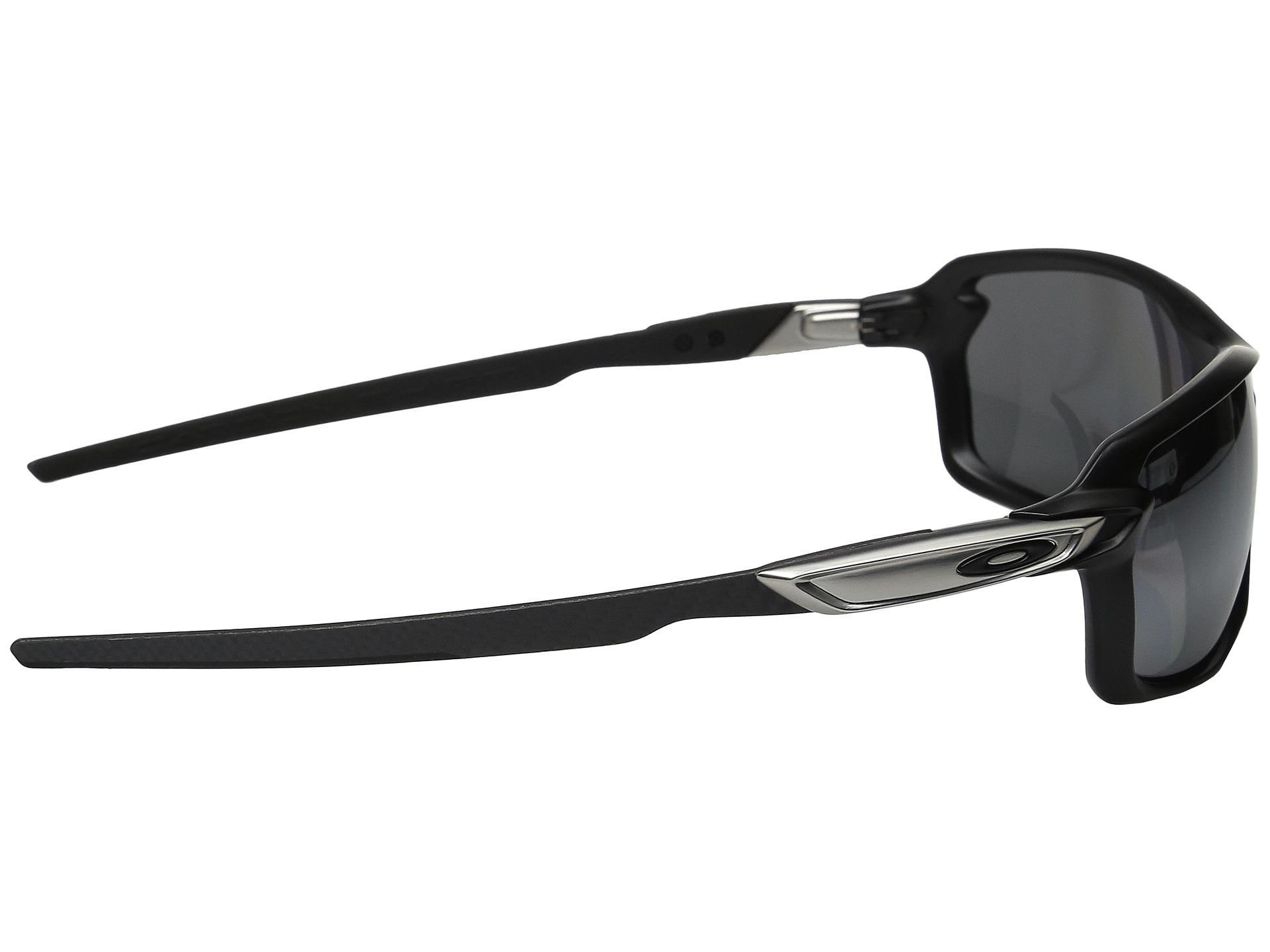 Oakley Carbon Shift Matte Black/Black Iridium Polarized ...