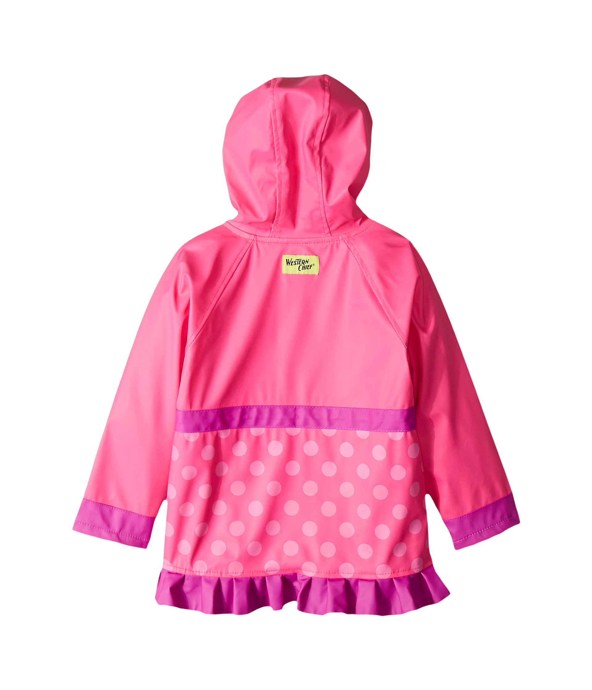 Western Chief Kids Flower Cutie Rain Coat (Toddler/Little ...