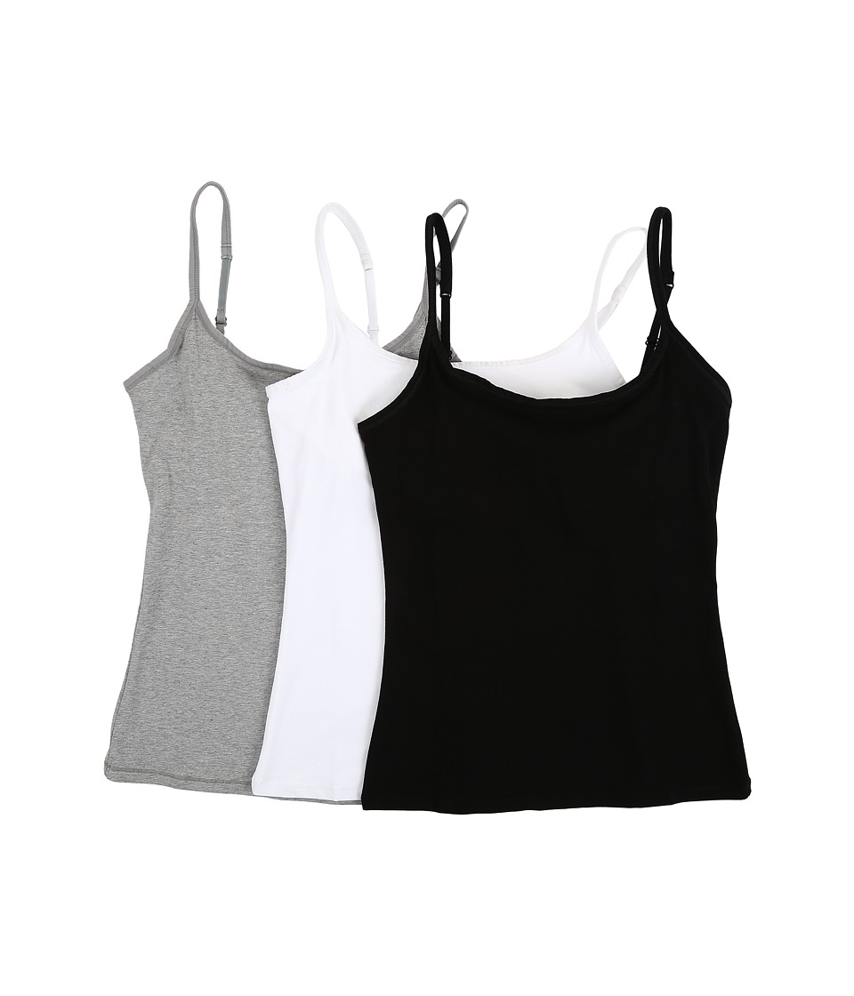 9036b8c2380c8 PACT Everyday Camisole w  Shelf Bra 3-Pack - Zappos.com Free .