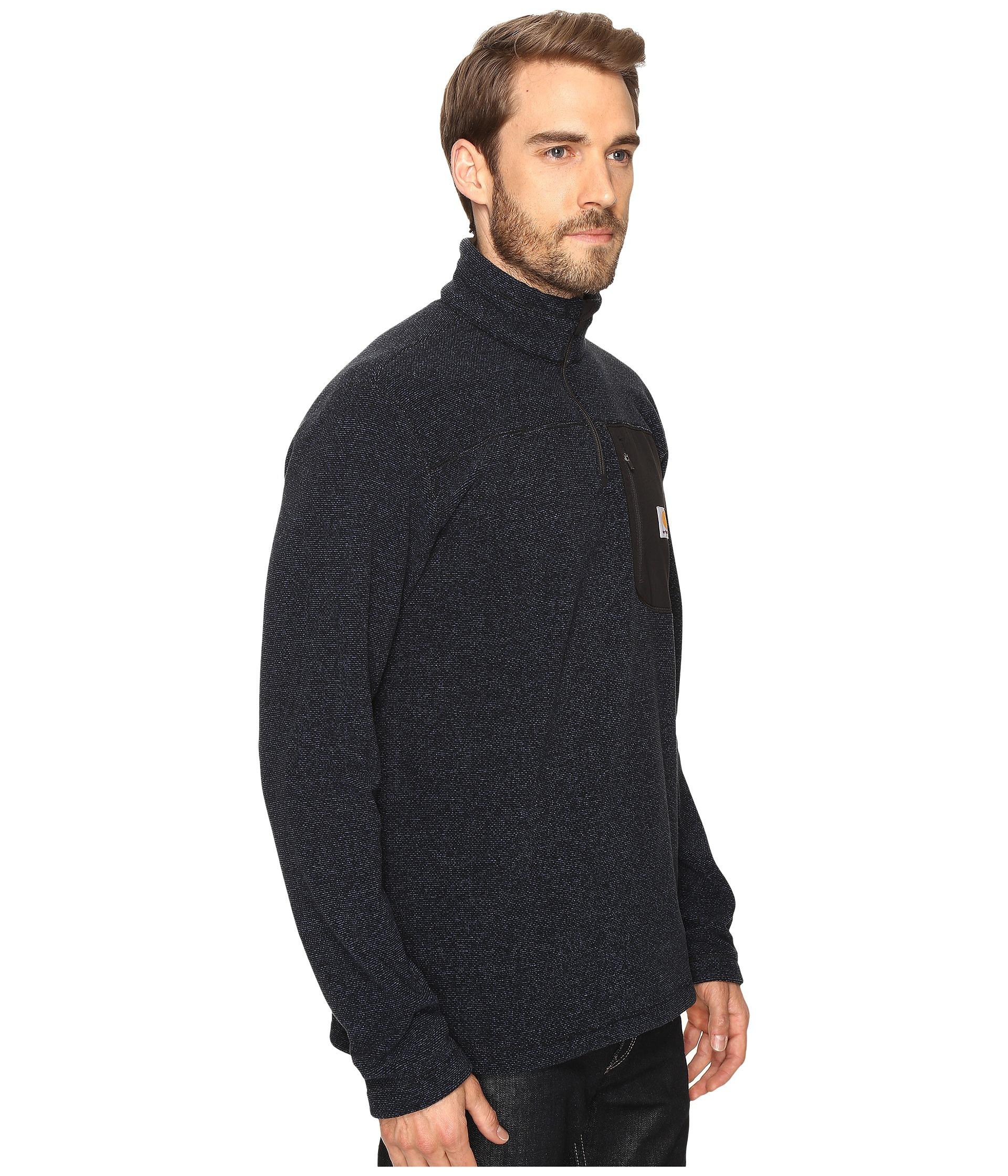 Carhartt Walden 1 4 Zip Sweater Fleece Zappos Com Free