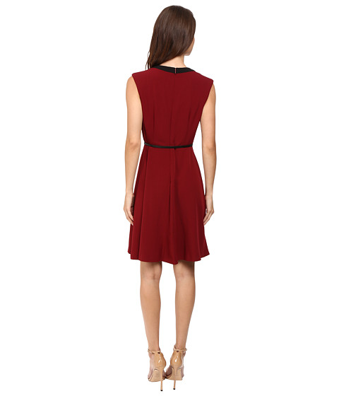 Christin Michaels Kari Fit And Flare Belted Dress At 6pm Com
