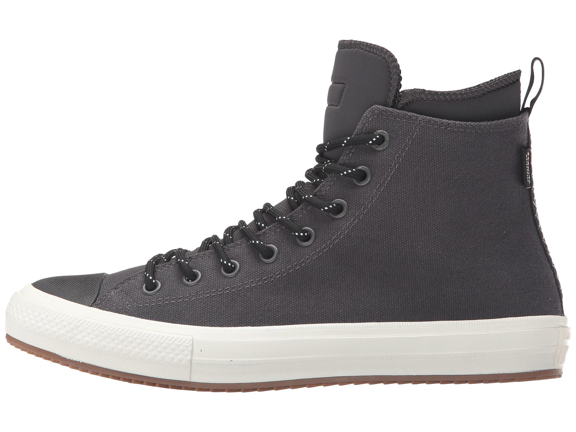 c749bd2fa6a Converse Chuck Taylor All Star Ii Shield Canvas Sneaker Boot Hi Almost  Black Black Egret