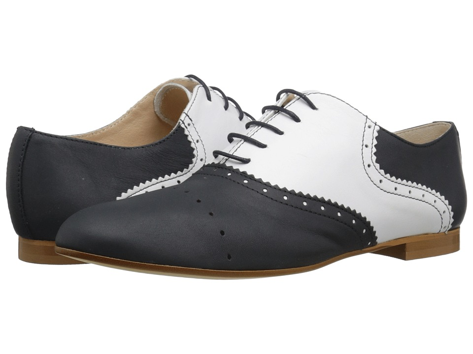 Retro Saddle Shoes Black Amp White Two Toned Oxford Shoes