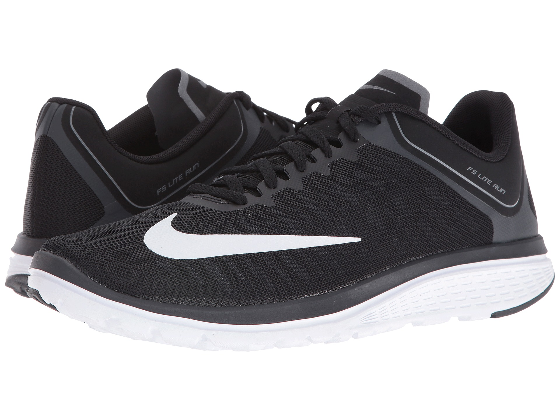 Nike Fs Lite Run  Black Running Shoes