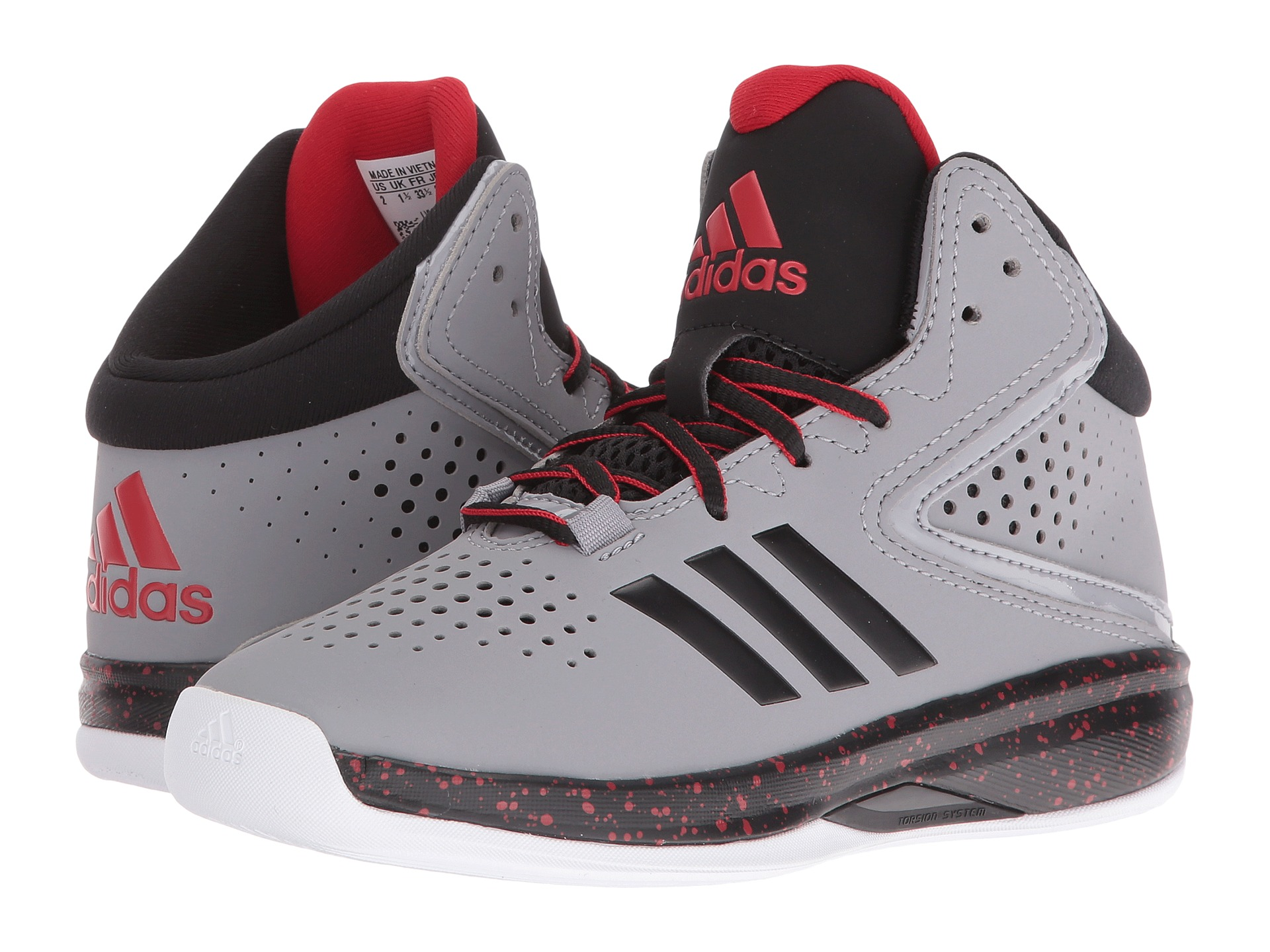 adidas Kids Cross 'Em Up 2016 Basketball- Wide (Little Kid ...