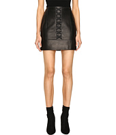 Adrianna Papell L S Lace Band Dress Black Nude Black