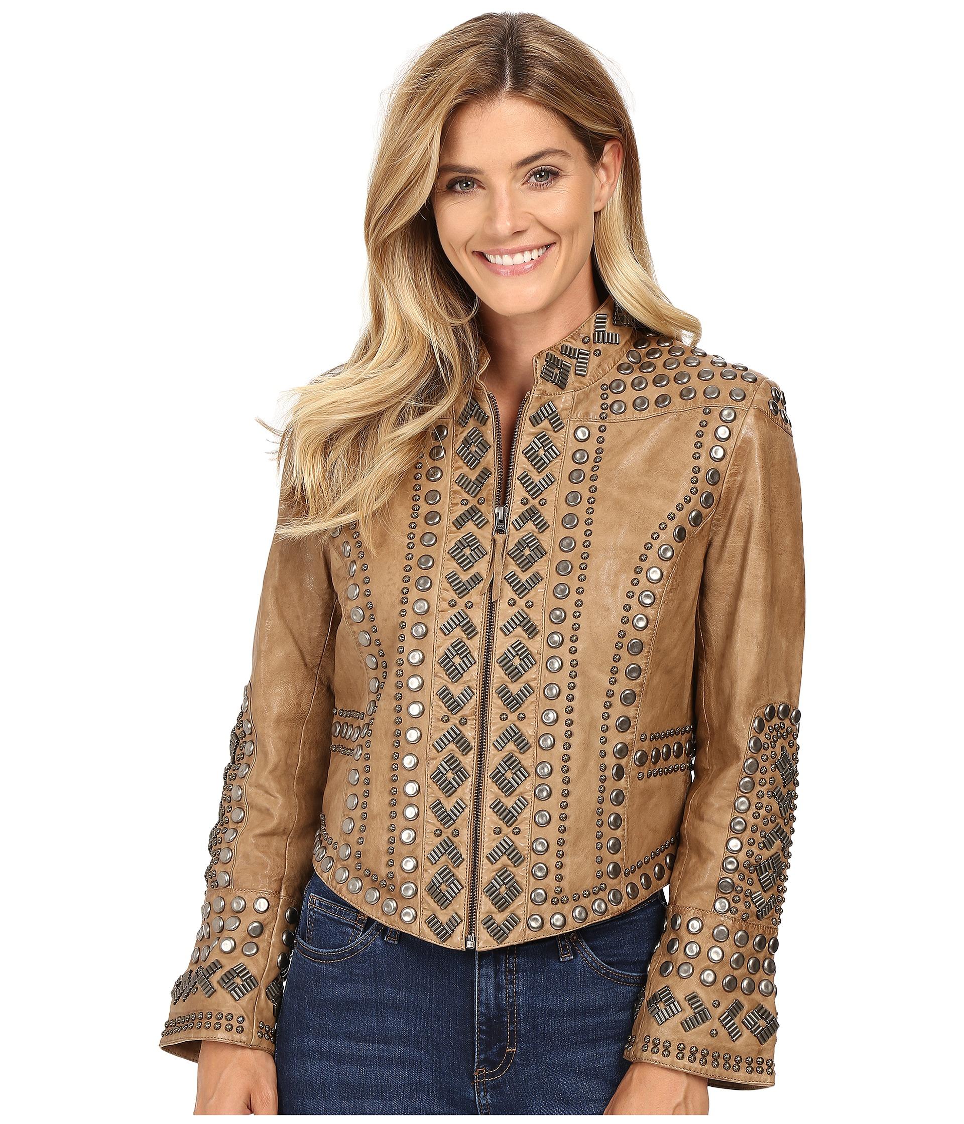 Double d ranchwear leather jacket