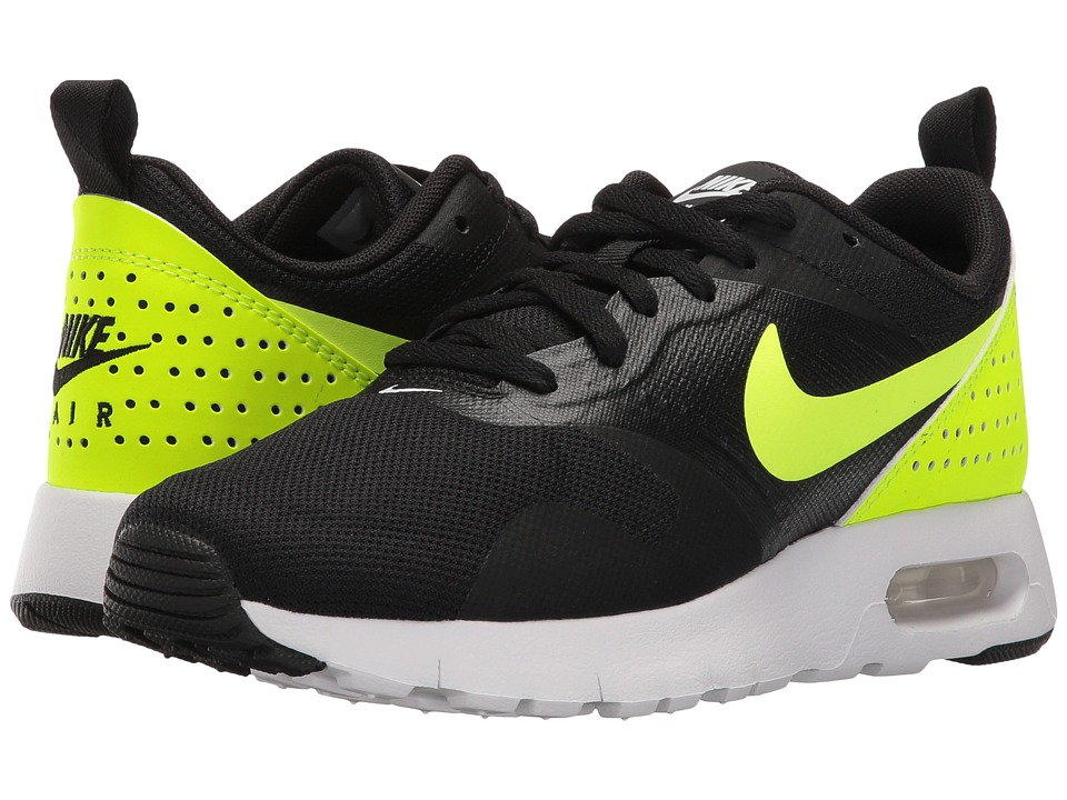 e9bb56903a1b Boys Nike Air Max Tavas Black Volt
