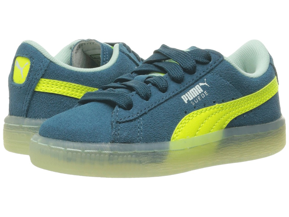 ffb654b97f9b  50.00 More Details · Puma Kids - Suede LFS Iced (Little Kid Big Kid) (Blue  Coral