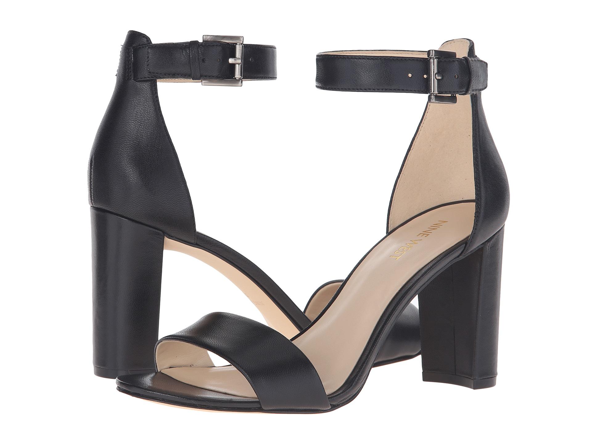 Black sandals nine west - Black Sandals Nine West 30