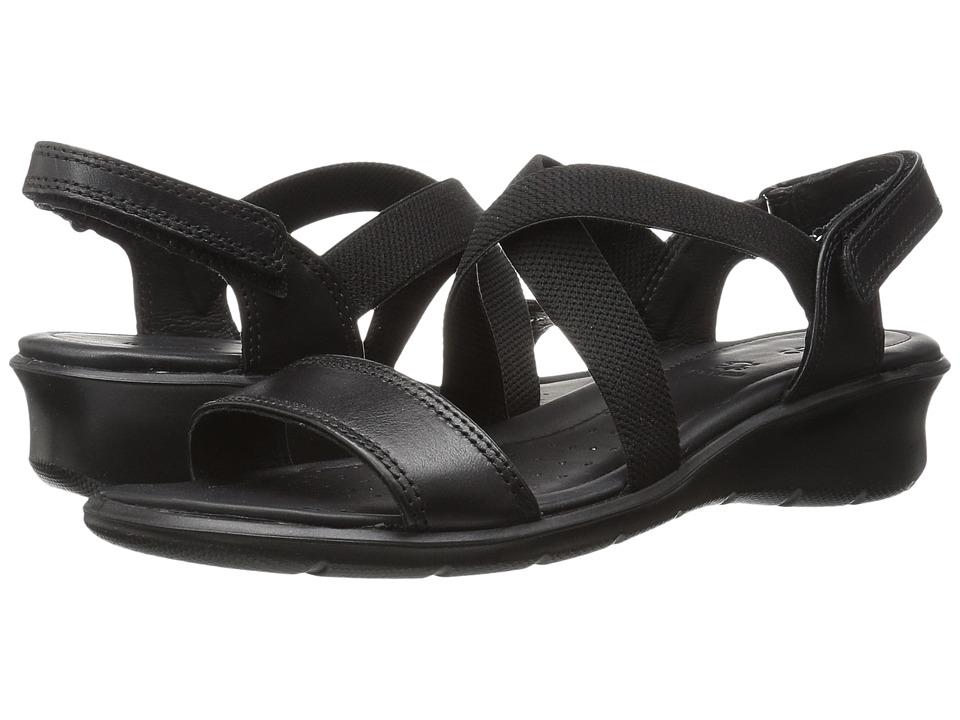 100c32639226  85.00 More Details · ECCO - Felicia Casual Sandal (Black Cow Leather) Women s  Sandals