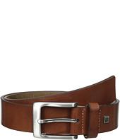 35mm Burnished Leather Belt Steve Madden