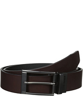 35mm Two-Tone Leather Reversible Belt Steve Madden