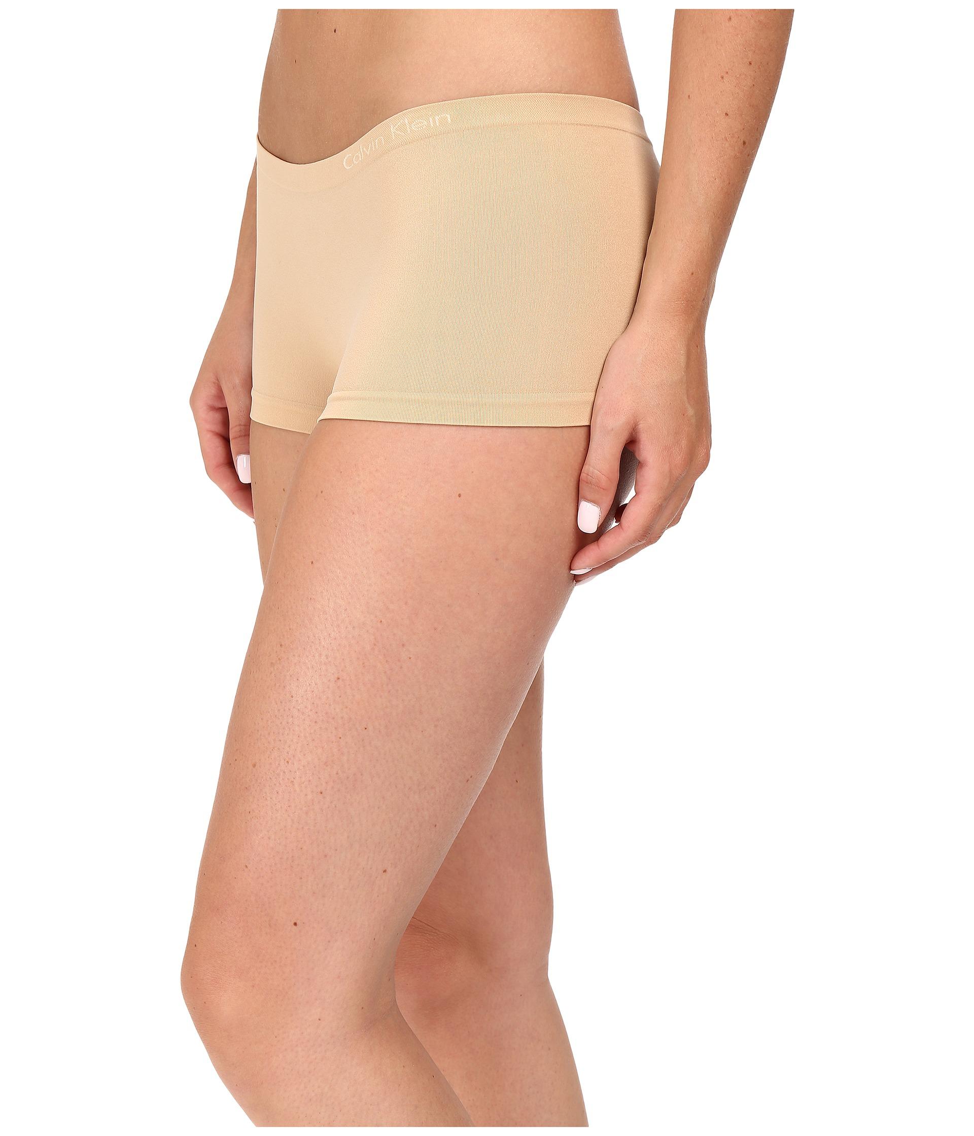 calvin klein underwear pure seamless 3 pack boyshorts at. Black Bedroom Furniture Sets. Home Design Ideas