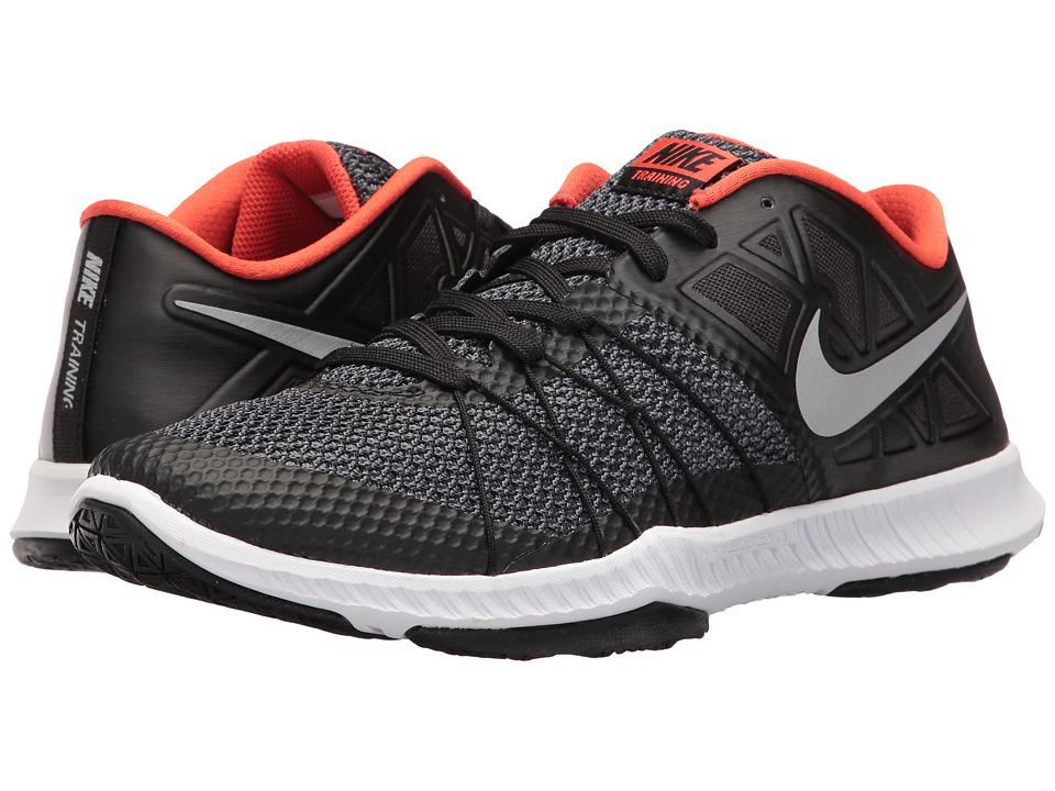 innovative design 167cb ed801 Nike - Zoom Train Incredibly Fast (Black Reflect Silver Max Orange) Men s