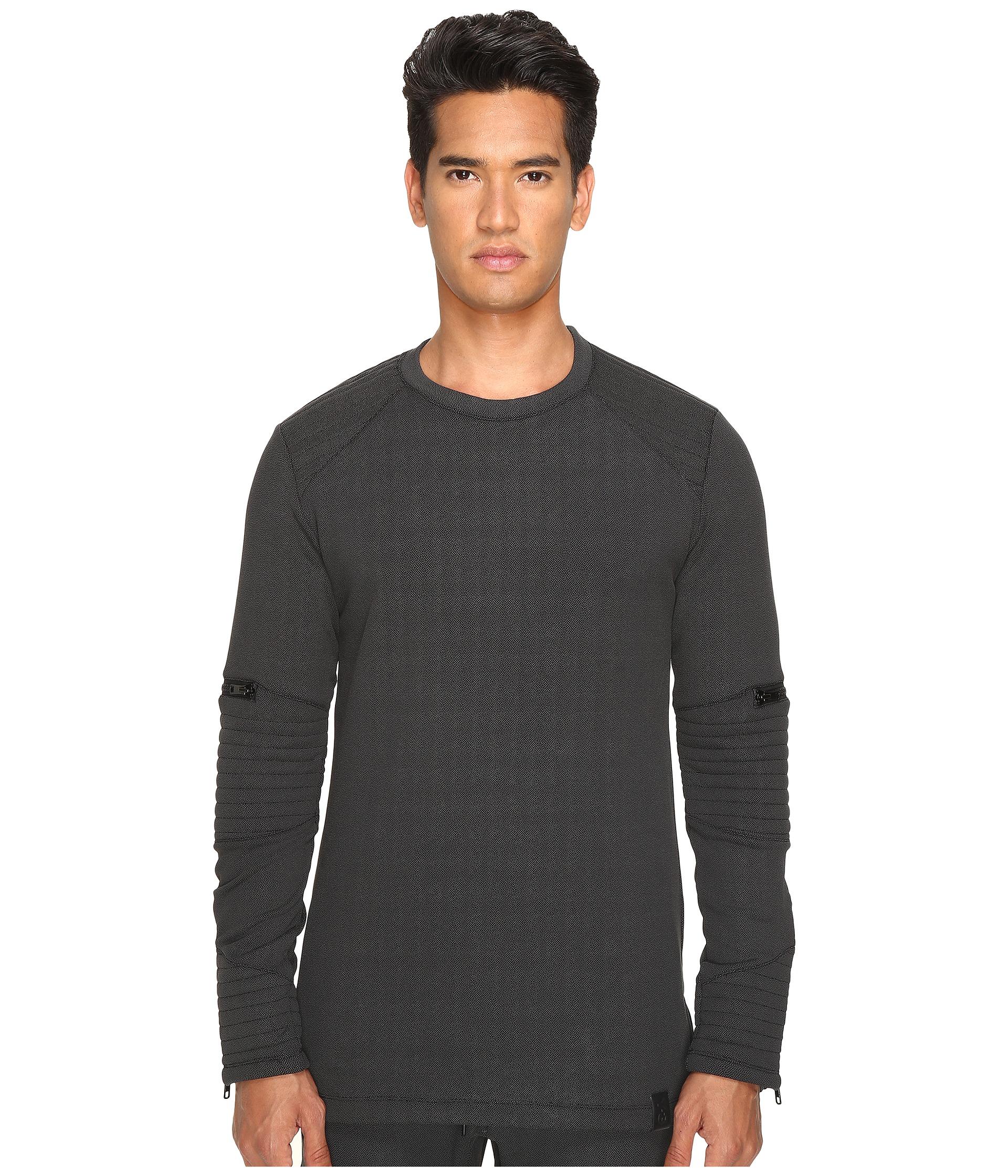 adidas y 3 by yohji yamamoto tecfleece sweatshirt at. Black Bedroom Furniture Sets. Home Design Ideas