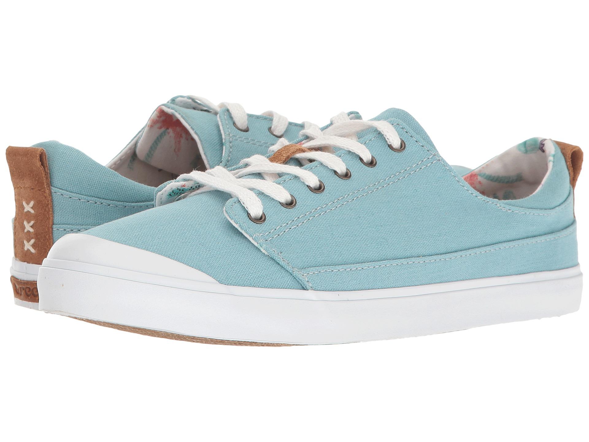 Reef Shoe Walled Low Steel Blue