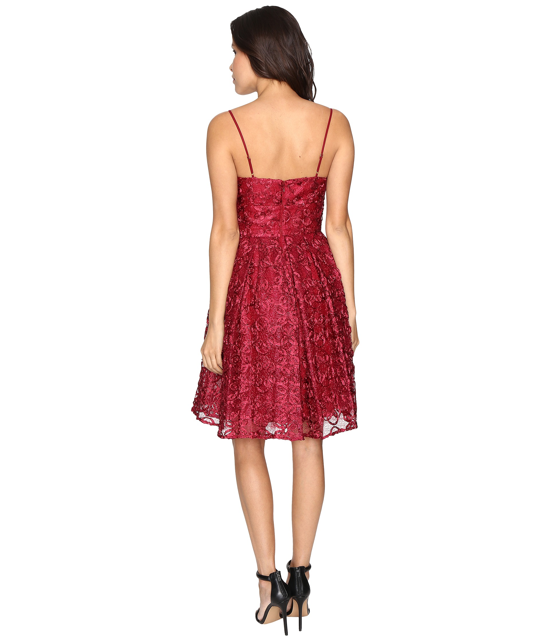 Rsvp Monterey Party Dress Red Multi Zappos Com Free